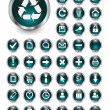 Royalty-Free Stock Vectorafbeeldingen: Web icons, buttons