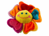 Happy flower toy — Stock Photo