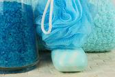 入浴剤、石鹸 — ストック写真