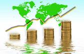 Global growth — Stock Photo