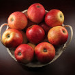 Red apples in a basket — Stock Photo #2029541