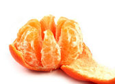 Ripe orange isolated — Stock Photo