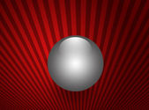 Shinning sphere, pearl — Stock Photo