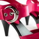 Ladys shoes isolated — Stock Photo #2052950