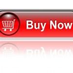 botão de ícone de carrinho de compras, — Vetorial Stock