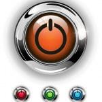 Start icon, button — Stock Vector #2328948