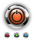 Start icon, button — Stock Vector