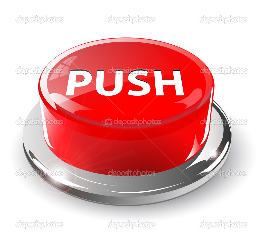 how to make a dog push a button