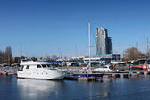 Gdynia harbour — Stock Photo