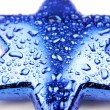 Blue star — Foto de Stock