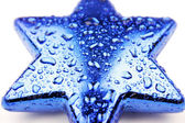 Blue star — Stock Photo