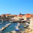 Dubrovnik harbour — Stock Photo