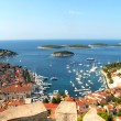Hvar, Croatian coast - Stock Photo