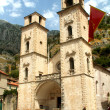 Kotor cathedral — Stock Photo