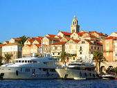 Korcula Old Town — Stock Photo