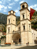 Kotor cathedral — Stock Photo