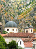 Orthodox church in Kotor — Stock Photo