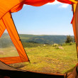 View from tent — Stock Photo #1987229
