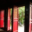 Doors of the temple — Stock Photo