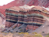 Cafayate canyon — Stock Photo