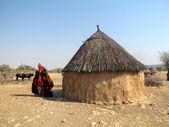 Himba village — Stock Photo