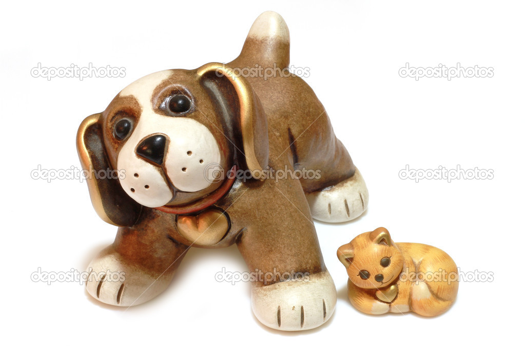 Dog and cat toy  Stock Photo #1983231