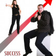 Royalty-Free Stock Photo: Success