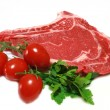 Raw steak — Stock Photo