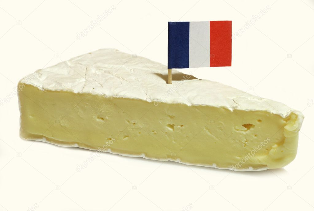 Slice of brie cheese. — Stock Photo #2061527
