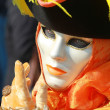 Carnival Mask in Venice — Photo