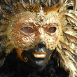Carnival Mask in Venice — Stock Photo