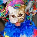máscara de carnaval en Venecia — Foto de Stock