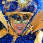 maska na karneval v Benátkách — Stock fotografie