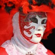 masque de carnaval à Venise — Photo #2152528