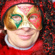 Carnival Mask in Venice - Stockfoto