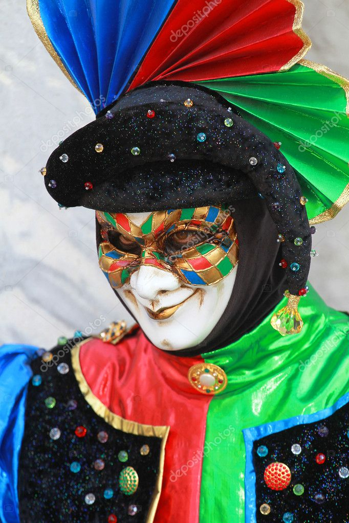 Venice, carnival mask  Stock Photo #2162445