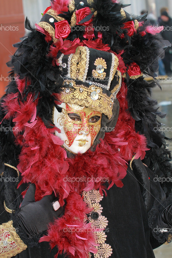 Venice, carnival mask  Stock Photo #2162802