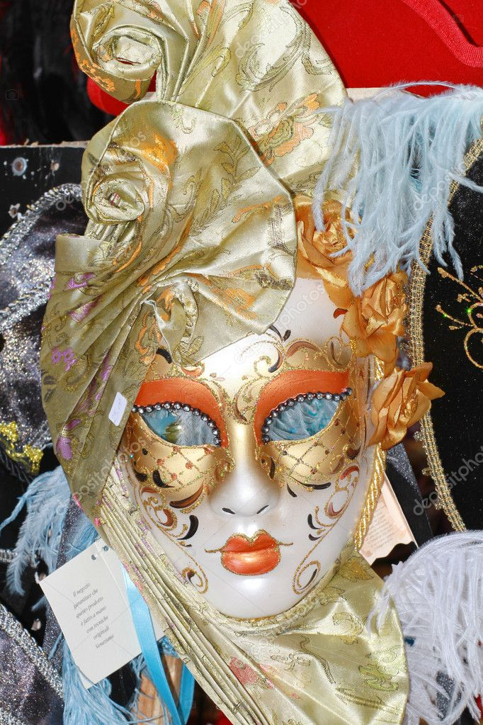 Venice, carnival mask — Stock Photo #2162978