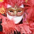 masque de carnaval, Venise — Photo #2177854