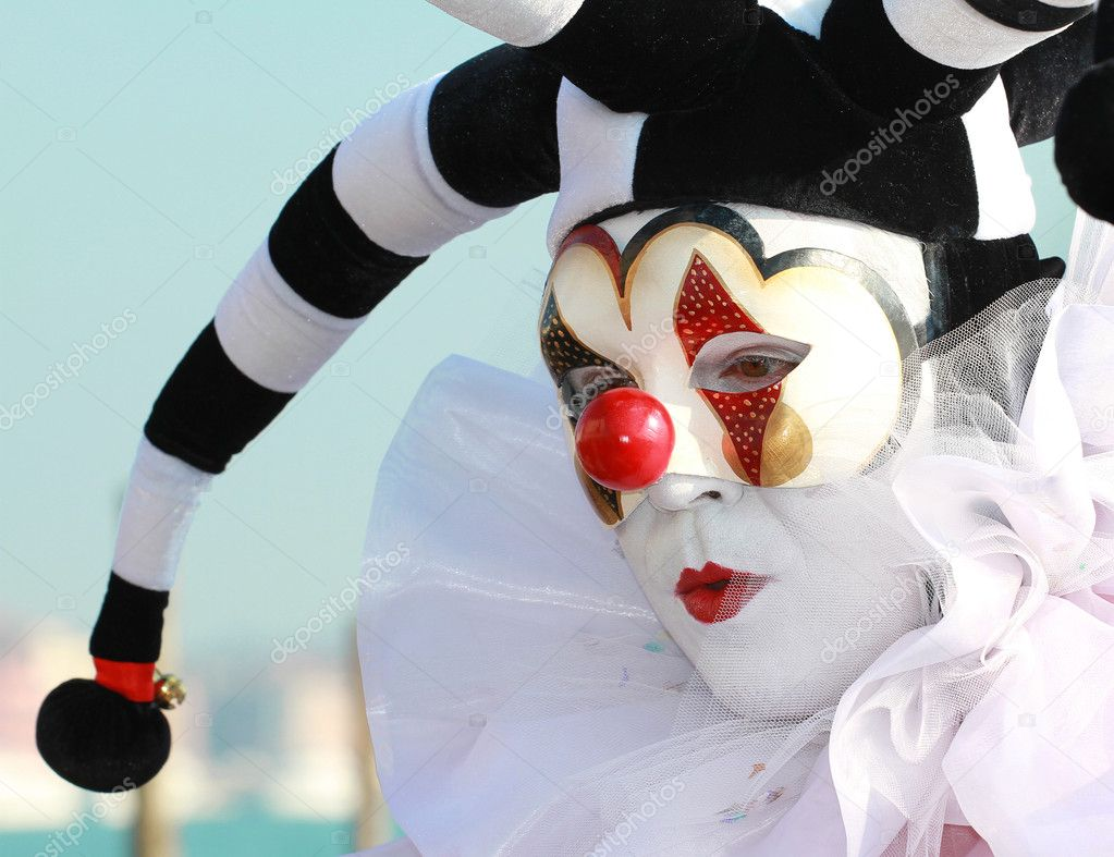 Carnival mask, venice  Stockfoto #2177831