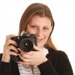 Woman photographer — Stock Photo #2411381