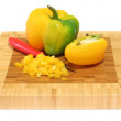 Stock Photo: Yellow pepper