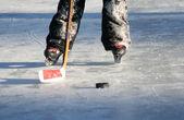 Ice hockey — Stock Photo