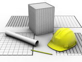 Building project — Stock Photo