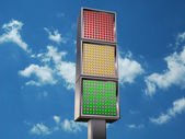 LED semaphore — Stock Photo