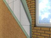 Warstwy ściany — Zdjęcie stockowe