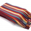 Royalty-Free Stock Photo: Multicolored striped  scarf