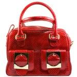 Red handbag — Стоковое фото