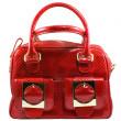 sac à main rouge — Photo
