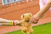 Small teddy bear — Stock Photo